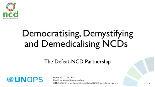 The Defeat-NCD Partnership_Presentation_061218_NCDs